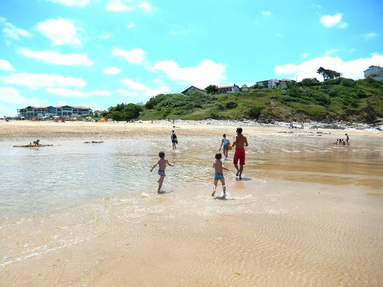 Camping Harrobia : Notre plage l'Uhabia