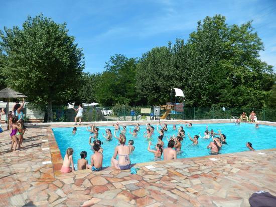 Camping Harrobia : Notra piscine