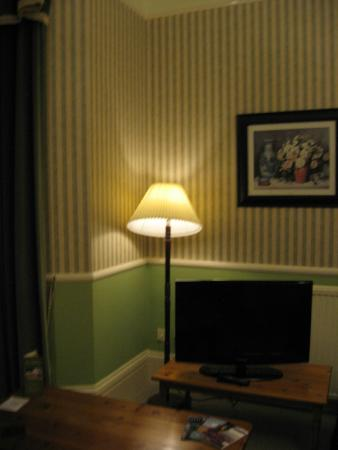 The Belmont Hotel & Restaurant: Room 20's TV
