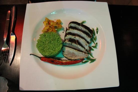 Green Mango : steak de thon