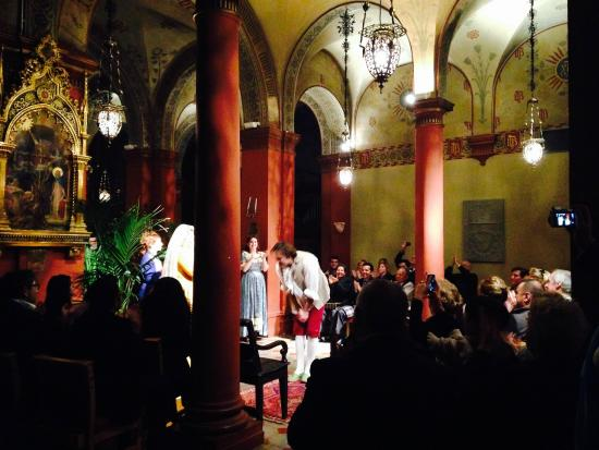 Opera at St. Mark's Anglican Church : View from my seat
