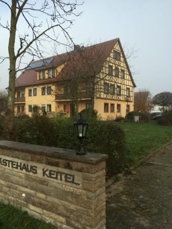 Windelsbach, Γερμανία: Das separate Gästehaus des Gasthof Linden