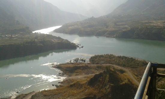 Bilaspur, الهند: Koldam Bilaspur