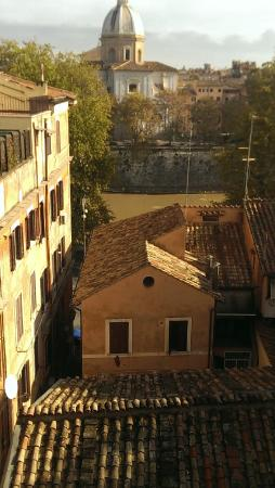 Hotel La Rovere : View from bed East