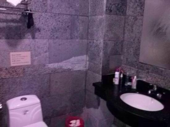 Bamboo House Hotel New: Ванная