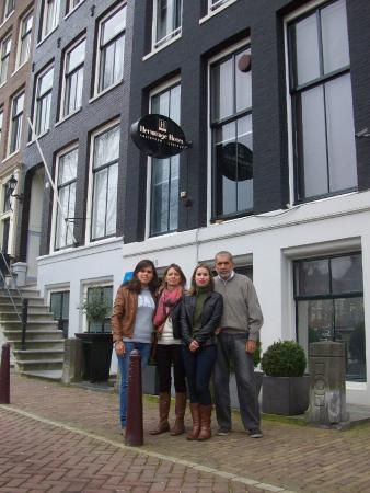 Hotel Hermitage Amsterdam: Frente do hotel