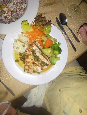 Mahi Mahi from chef....excellent