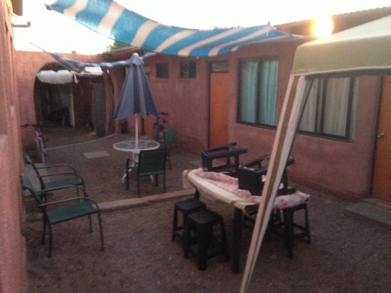 Hostal Paloma Celestial: Courtyard