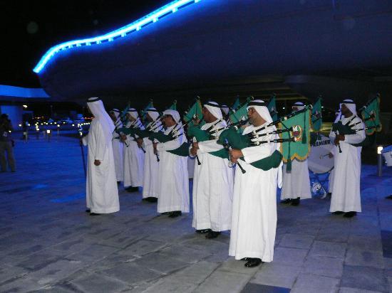 Meydan Racecourse: Réception traditionnelle à l'hippodrome Meydan