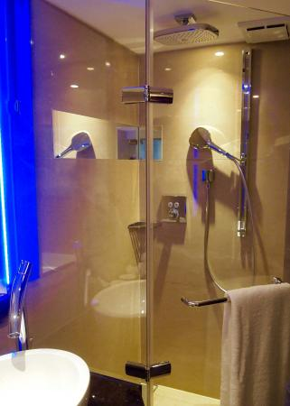 Standing shower. All good brands stuff. - Picture of THE Tango ...