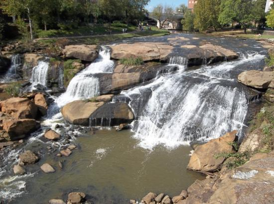 Greenville, Carolina del Sur: The Water Falls