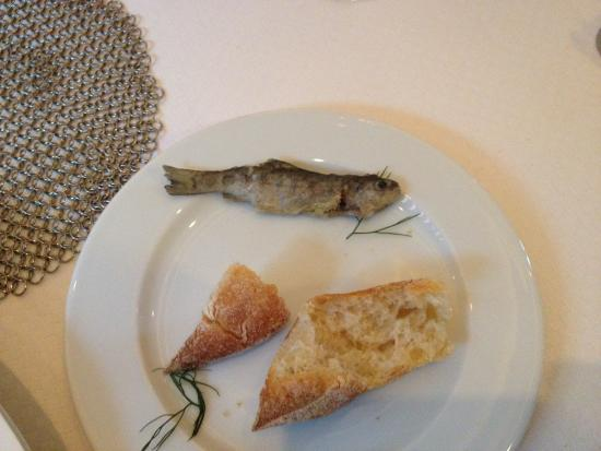 La Table de Franck Putelat : Loved the tiny fresh water trout