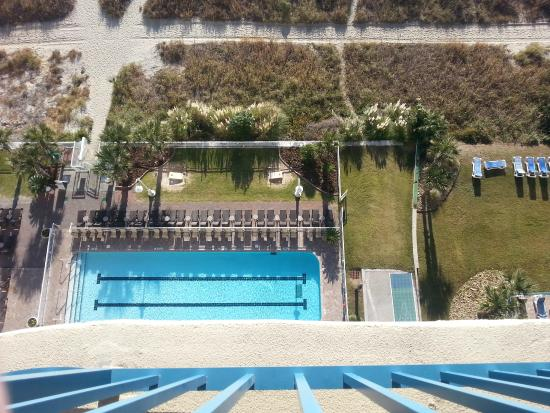 Paradise Resort: Aerial view from balcony
