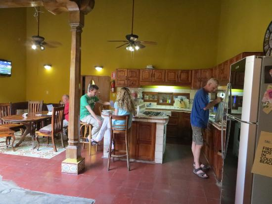 Casa del Agua: Common area for relaxing, eating
