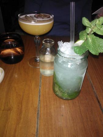 The Refinery: Really Nice cocktails - interesting presentation