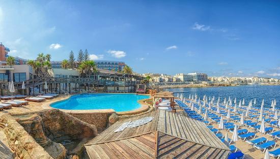Amazonia Beach Lido, Dolmen Resort Hotel Malta