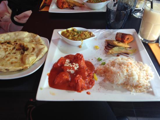 Aux Indes Express : Déjeuner