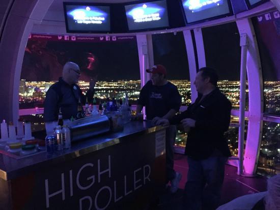 high roller bar
