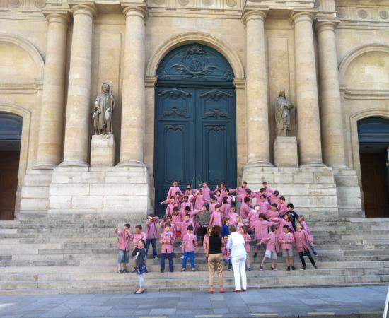 Eglise Saint-Roch : foto ricordo