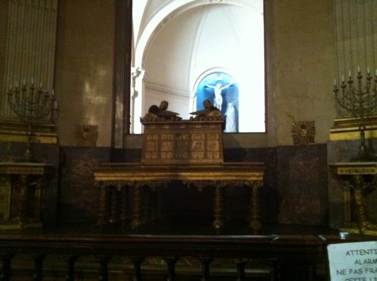 Eglise Saint-Roch : l'arca dell'alleanza