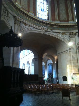 Eglise Saint-Roch : interno