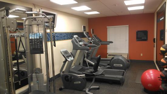Hampton Inn Shreveport Airport: Workout room
