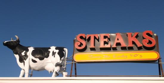 Steaks Unlimited: On the old one's top
