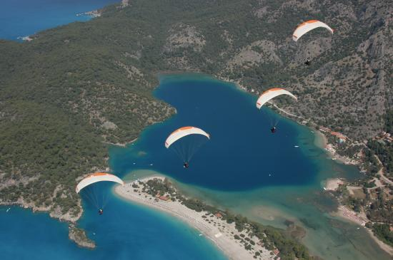 Reaction Paragliding