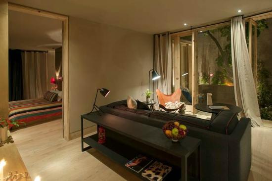 Hotel Bo: Salón de la Garden Suite