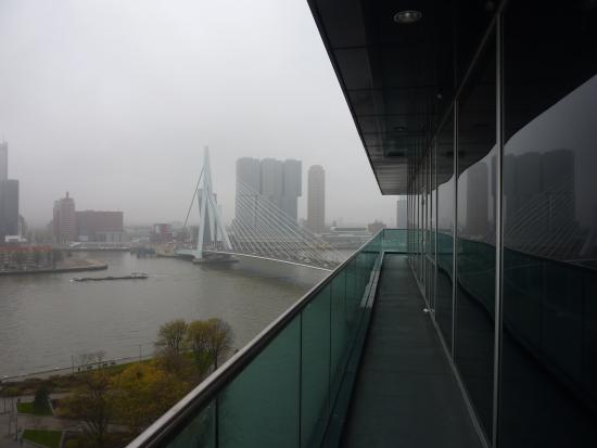 Inntel Hotels Rotterdam Centre: View from the 16th floor