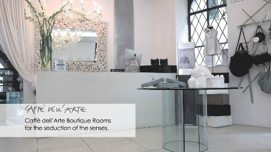 Caffe dell'Arte Boutique Rooms: Caffè dell'Arte Boutique Rooms