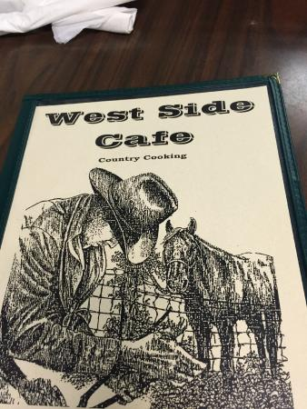 West Side Cafe Menu Fort Worth Tx