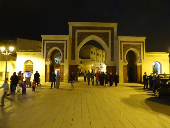 Riad el Amine Fes: Eingang zur Medina