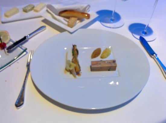 Culinary Flight: Al Mahara : Terrine de foie gras (très bon)