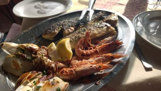 L'Ancora: grigliata di pesce