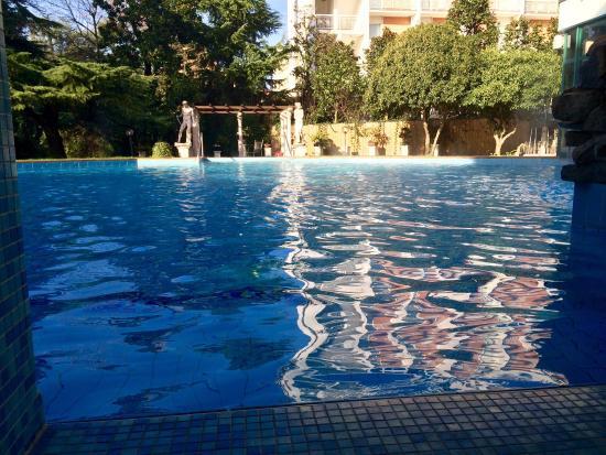 Olympia Terme Hotel : 21 novembre, la piscina dell'Olympia era così...��