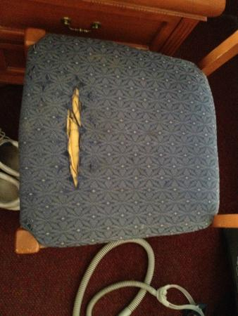 Days Inn Rawlins: Desk Chair - Seriously?