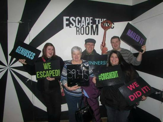 Winners! - Picture of Escape the Room NYC, New York City - TripAdvisor