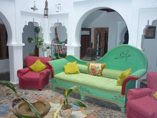 Hotel Riad Casa Hassan Restaurante: Salle, entrée