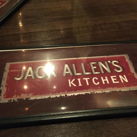 jack allens kitchen menu - Jack Allens Kitchen Menu