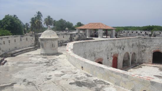 Castillo San Fernando de Bocachica: parte alta de la fortaleza