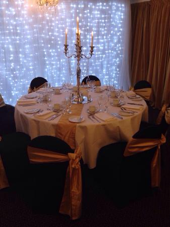 The Park hotel: Wedding Table