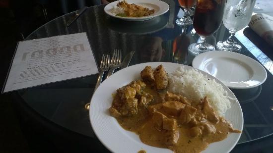 Raaga: Food from the lunch buffet