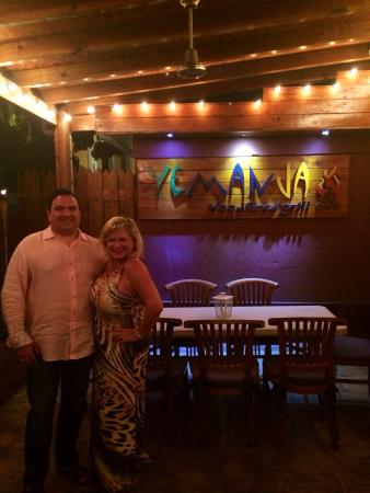 Yemanja Woodfired Grill: Dining at our favorite restaurant in Aruba!!!