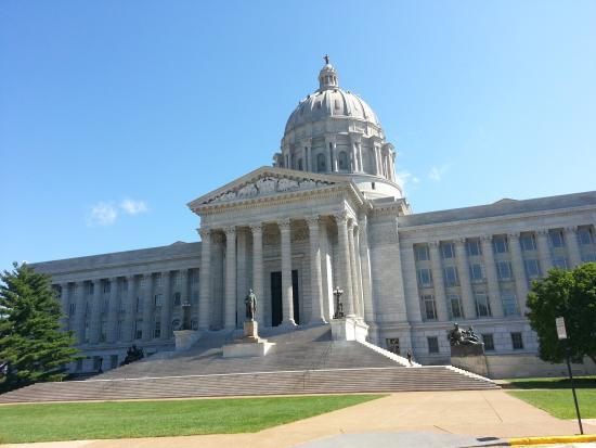 Interior Dome Picture Of Missouri State Capitol