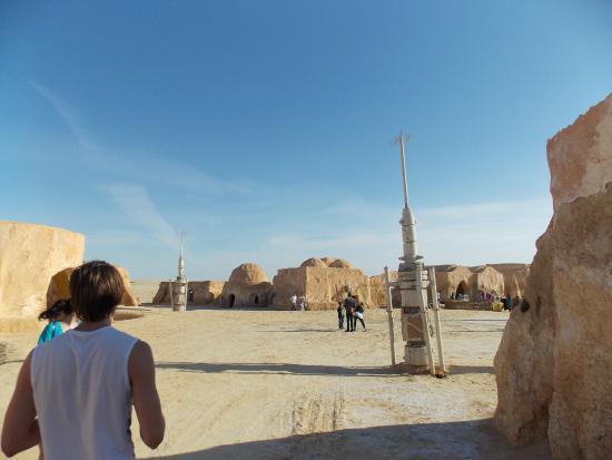 """Sahara Desert: здесь снимали эпизоды к """"Звездным воинам""""1 части"""