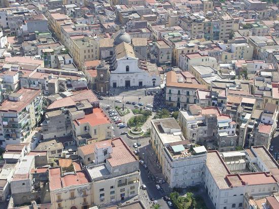 Torre Del Greco, Italy: Dall'elicottero