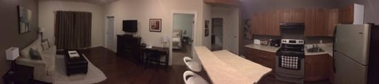 Beyond Bliss Suites : full panorama view of room!