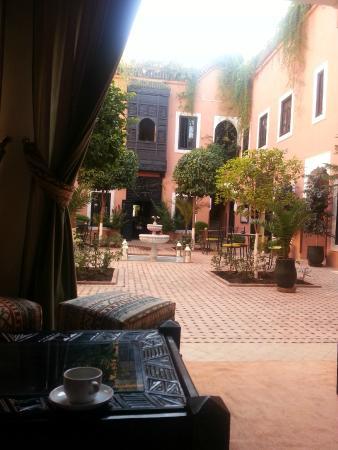 Les Borjs de la Kasbah: Courtyard
