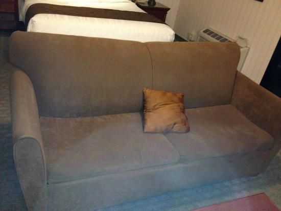 Best Western Plus Forest Park Inn : lovely couch - NOT